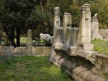 Ruins of Ming Xiaoling Mausoleum in Nanjing China Stock Photography