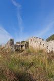 Ruins of Mogren Fort (1860) near Budva Stock Photography