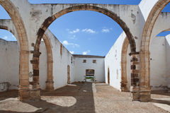 Ruins of the monastery of Betancuria Royalty Free Stock Photos