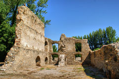 Ruins of Monastery of Carracedo on Bierzo Royalty Free Stock Photo