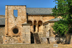 Ruins of Monastery of Carracedo on Bierzo Royalty Free Stock Images