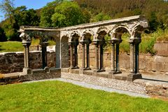 Ruins of a monastery Royalty Free Stock Image