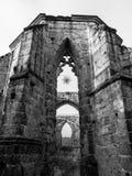 Ruins of monastery in Oybin Stock Photography