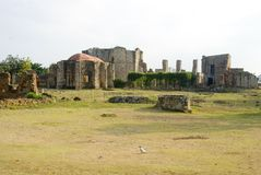 Ruins of the monastery san francisco Stock Image