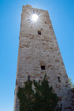 The ruins of the monastery of San Secondo Olivetano Royalty Free Stock Image