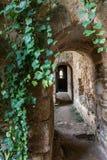 Ruins of the monastery of Santa María de Moreruela was a monastery belonging to the Cistercian order Zamora, Spain. Ruins of the monastery of Santa María royalty free stock image