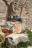 Ruins of Monfort castle, Israel Royalty Free Stock Photo