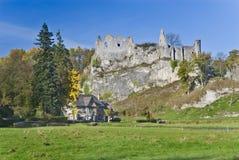 Ruins Montaigle, Belgium. Royalty Free Stock Image