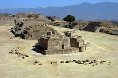 Ruins, Monte Alban, Mexico Stock Photos