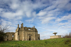 Ruins of Monterano Royalty Free Stock Images
