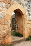 Ruins of Montfort castle, Israel Royalty Free Stock Images
