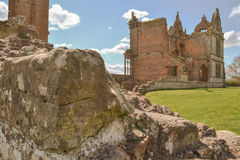The Ruins of Moreton Corbet Castle Royalty Free Stock Image