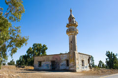 Ruins of mosque Stock Images