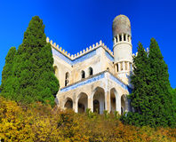 Ruins of Mosque in Semeiz, Crimea. Ukraine royalty free stock images