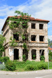 Ruins of Mostar town Stock Photography