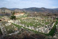Ruins and mountain Royalty Free Stock Photos