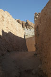 Ruins of mountain oasis Chebika, Tunisia Stock Images