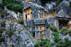 Ruins of Myra Stock Images