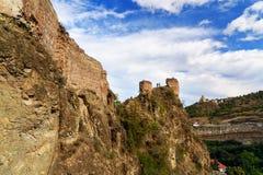 Ruins of Narikala Fortress in Tbilisi, Georgia Stock Photography