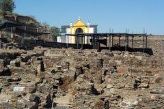 Ruins near the castle, Mertola, Portugal Stock Photos