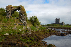 Ruins near Kinvarra, Ireland Royalty Free Stock Images