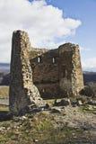 Ruins near Mtskheta, Georgia. Ruins at the Jvari monastery near Mtskheta, Georgia Stock Images