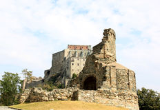 Ruins near Sacra di San Michele, Italy Royalty Free Stock Photos