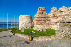 Ruins in Nessebar Royalty Free Stock Photography
