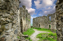 The ruins of Nevitsky castle Royalty Free Stock Photography