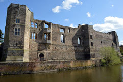 Ruins of Newark Castle in Newark, England Royalty Free Stock Photography
