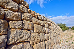 Ruins of the Nimrod fortress Royalty Free Stock Photo