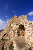Ruins of the Nimrod fortress Royalty Free Stock Images