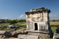 The ruins of the Northem Necropolis of Hierapolis, Turkey Royalty Free Stock Photos