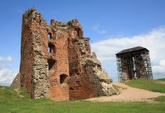 Ruins of Novogrudok castle Royalty Free Stock Images