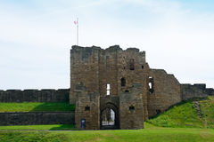 Ruins of the nunnery, Tynemouth, England Royalty Free Stock Photography