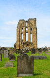 Ruins of the nunnery, Tynemouth, England Stock Photo