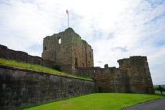 Ruins of the nunnery, Tynemouth, England Royalty Free Stock Photos
