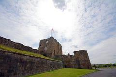 Ruins of the nunnery, Tynemouth, England Stock Photo
