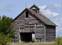 Ruins of an Odell Family Farm. This is a Summer picture of the remains of a family farm located in Odell, Illinois in Livingston County. This is the last stock photography