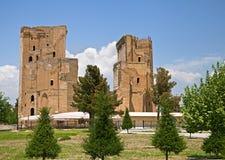 Ruins Of Ak-Saray Palace, Shakhrisabz Royalty Free Stock Photo