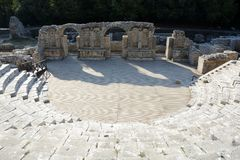 Free Ruins Of Ancient Butrint In Butrint National Park Stock Images - 132073624