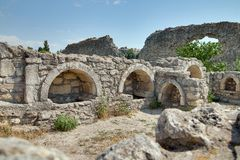 Free Ruins Of Ancient Greek Colony Khersones Stock Photos - 25971083