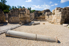 Ruins Of Beit She An Stock Photography