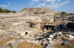 Ruins Of Beit She An Royalty Free Stock Photography