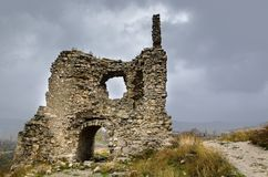 Ruins Of Castle Stock Images
