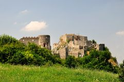 Ruins Of Devin Castle Stock Images