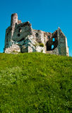 Ruins Of Eagle Nest Castle In Mirow, Poland Stock Image