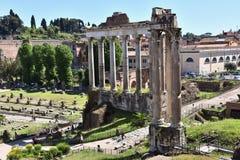 Free Ruins Of Forum Romanum, Italy Stock Images - 148820344