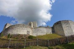 Free Ruins Of Historical Gothic Castle Rabi Near Otava River, Bohemian Forest, Czech Republic, Europe Stock Photos - 165191773