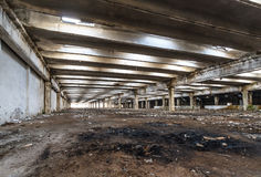 Free Ruins Of Industrial Enterprise Buildings Abandoned Or Destroyed. Stock Photo - 90276130